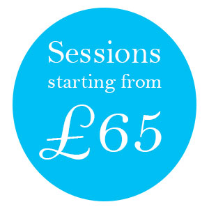 Therapy sessions from £65 per hour