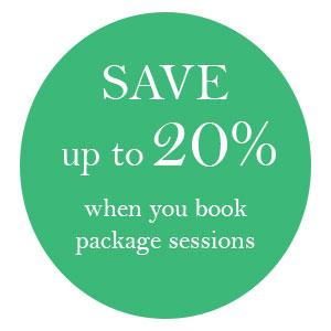 Save upto 20% when you book a therapy session package